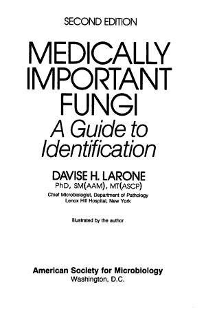 Medically Important Fungi PDF