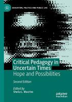 Critical Pedagogy in Uncertain Times PDF