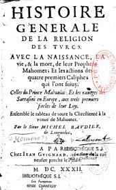 Histoire générale de la religion des Turcs...
