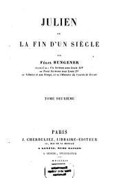 Julien ou la fin d'un siècle: Volume2