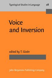 Voice and Inversion