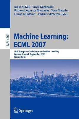 Machine Learning  ECML 2007 PDF