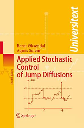 Applied Stochastic Control of Jump Diffusions PDF