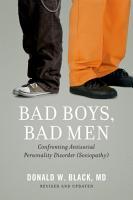 Bad Boys  Bad Men PDF