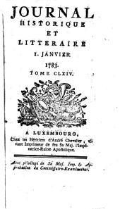 Journal historique et littéraire: Volume1