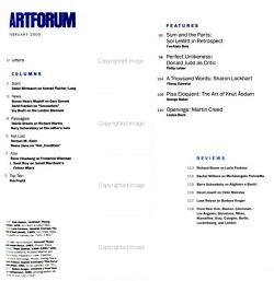 Artforum International PDF
