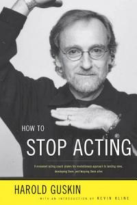 How to Stop Acting Book