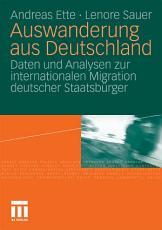 Auswanderung aus Deutschland PDF
