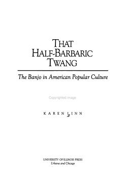 That Half barbaric Twang PDF