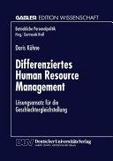 Differenziertes Human Resource Management PDF