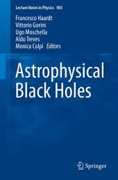 Astrophysical Black Holes