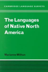 The Languages of Native North America PDF