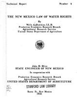 The New Mexico Law of Water Rights PDF