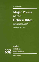Major Poems of the Hebrew Bible  Job 15 42 PDF