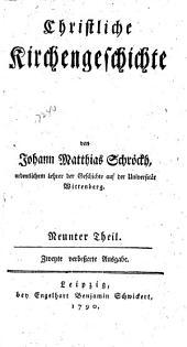 Christliche Kirchengeschichte: Band 9