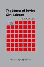 The Status of Soviet Civil Science