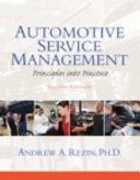 Automotive Service Management PDF