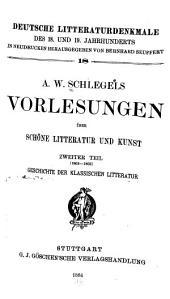 Vorlesungen über schöne Litteratur und Kunst: Ausgaben 18-20