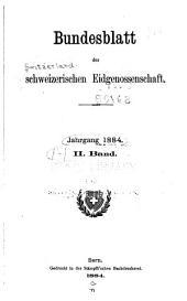 Bundesblatt der Schweizerischen eidgenossenschaft: Band 2