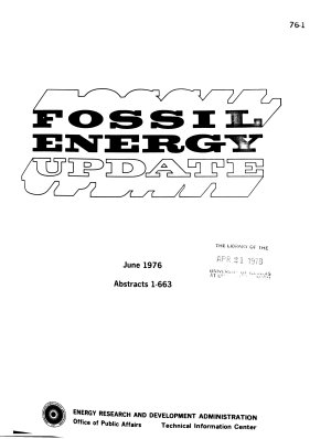 Fossil Energy Update PDF
