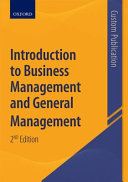 Introduction to Business Management and General Management