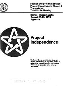 Project Independence  Denver  Colorado  Aug  6 9  1974 PDF