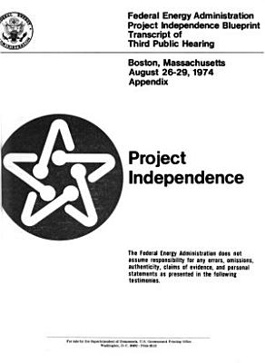 Project Independence  Denver  Colorado  Aug  6 9  1974