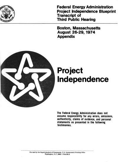 Project Independence  Denver  Colorado  Aug  6 9  1974 PDF