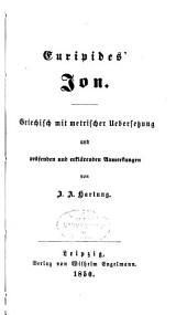 Euripides' Werke: Ion. Alkestis. Hekabe