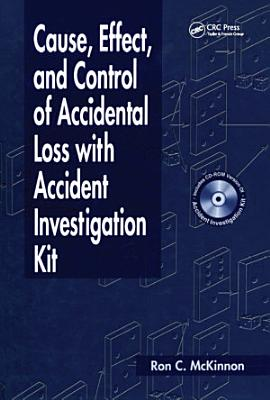 Cause Effect And Control Of Accidental Loss With Accident Investigation Kit