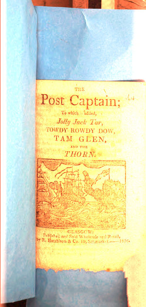 The post captain  to which is added  Jolly Jack Tar   c  Songs