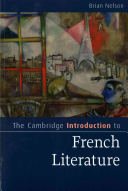 The Cambridge Introduction to French Literature PDF