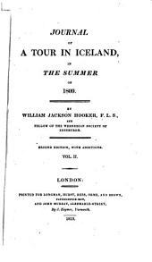 Journal of a Tour in Iceland: In the Summer of 1809, Volume 2