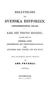 Berättelser ur Svenska historien: Till ungdomens tjenst utgifven af And. Fryxell; fortsatta af Otto Sjägren, Volume 29