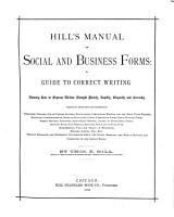 Manual of Social and Business Forms PDF