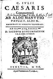 C. Iulii Caesaris Commentarij