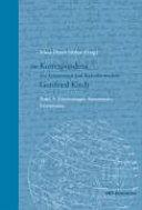 Die Korrespondenz des Astronomen und Kalendermachers Gottfried Kirch  1639 1710  PDF