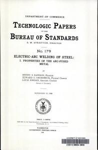Electric arc Welding of Steel PDF