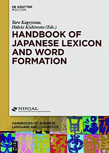 Handbook of Japanese Lexicon and Word Formation PDF