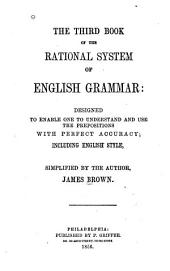 Third Book of Rational System of English Grammar
