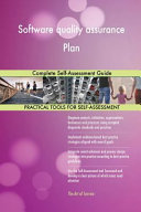 Software Quality Assurance Plan Complete Self Assessment Guide PDF