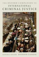 The Oxford Companion to International Criminal Justice PDF