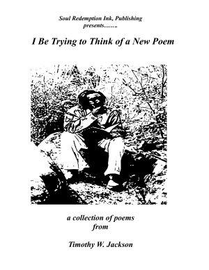 I Be Trying to Think of a New Poem PDF