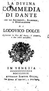 La divina commedia, con gli argomenti di L. Dolce