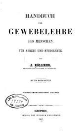 Handbuch der Gewebelehre des Menschen