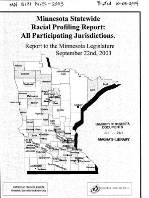 Minnesota Statewide Racial Profiling Report