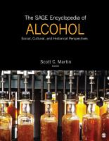 The SAGE Encyclopedia of Alcohol PDF