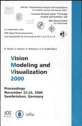 Vision Modeling And Visualization 2000 Book PDF