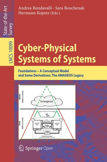 Cyber Physical Systems of Systems PDF