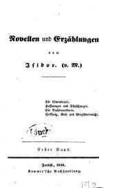 Novellen und Erzählungen: Band 1